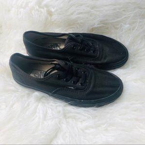 [Vans] Black LO pro authentic